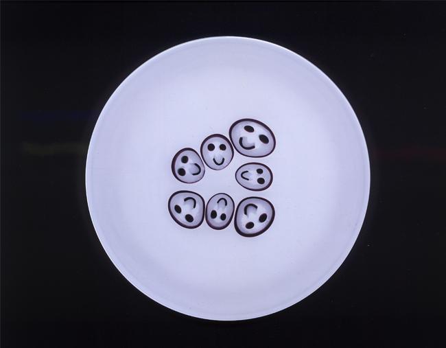 2002-HappyFew-Smile plate