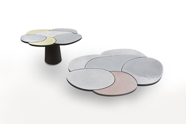 Etnastone Round Table and Coffee Table