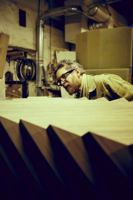 Work in progress - Master cabinetmaker Anders Lunderskov
