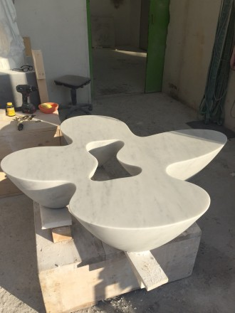 Work in Progress - Quark Marble Carrara