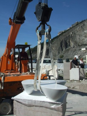 Work in Progress - Carrara marble quarry