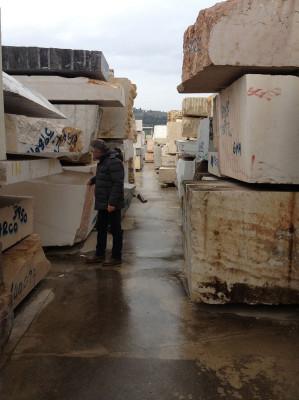 Osmosi Furniture - Work in Progress - Carrara marble