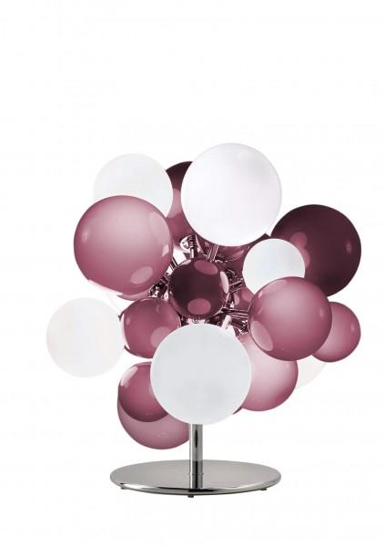 Digit Light Regular - Floor - Soft Hazy Purple and White Lattimo