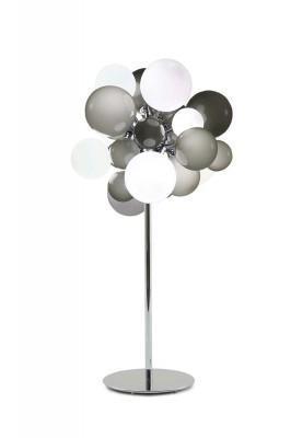 Digit Light Regular - Standing - Soft Grey and White Lattimo