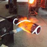 Seaform - Work in Progress - Furnace Anfora - Murano