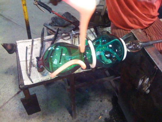 Seaform - Work in Progress - Furnace Anfora - Master Andrea Zilio