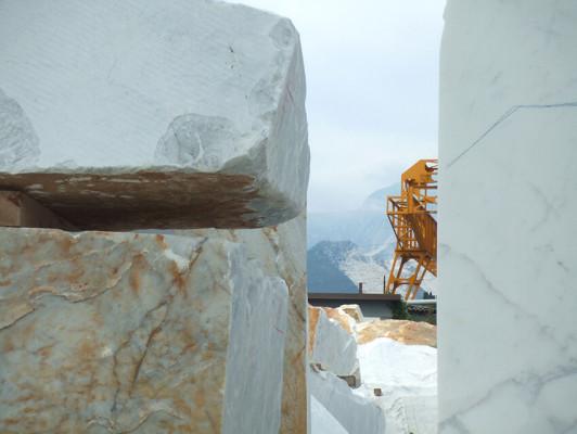 Sunshare - Work in Progress - Carraran marble quarry