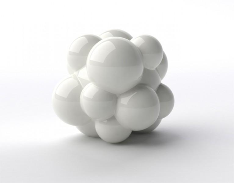 Naturellement I , color: white, dimensions: 47cm x 43cm