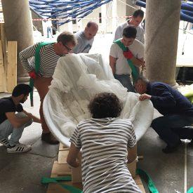 Exhibtion, Palazzo Litta 2017, mounting