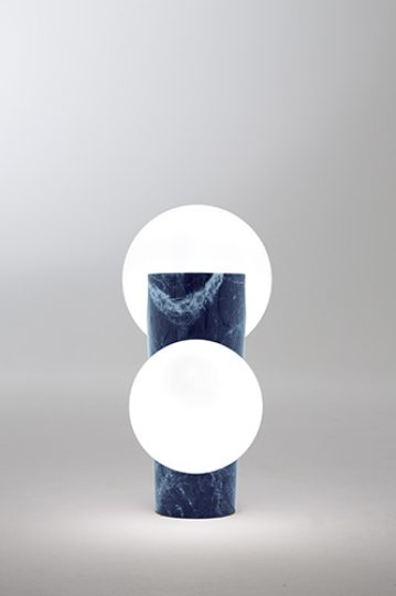 Osmosi Lamp 1 - Sodalite - Unique Piece