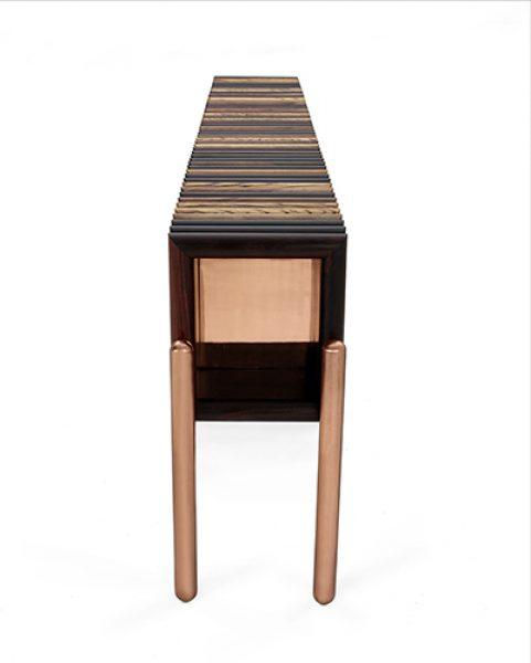 Beverly - full version, copper finish