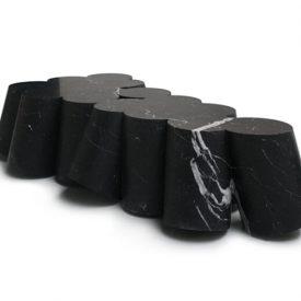 Black Sheep, 15 elements, Black Marquina Marble