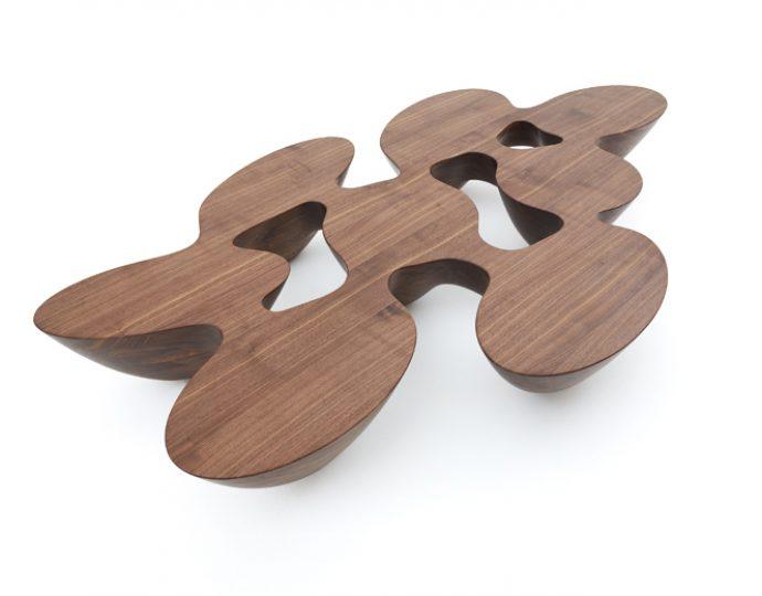 Quark Wood - Walnut – 8 elements