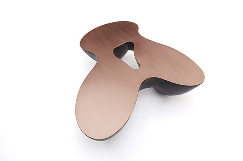 Quark Copper – 3 elements, Finish: satin and black patina, matt varnish